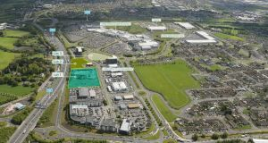 Lands enjoy a prime location  adjacent to Liffey Valley Shopping Centre.