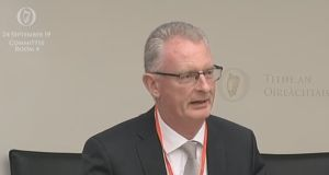 Ian Talbot of Chambers Ireland, which has called for revenues from carbon tax to be invested in green infrastructure