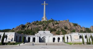 The Valley of the Fallen in Madrid, Spain, where Franco is currently buried. Photograph: Angel Diaz/EPA