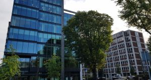 Building 3 at Number One Ballsbridge: record office rent