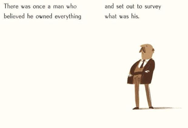 From Oliver Jeffers's The Fate of Fausto