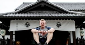 Keith Earls in Shizuoka this week. 'Potentially, this could be my last World Cup,' says the Munster winger. Photograph: Dan Sheridan/Inpho
