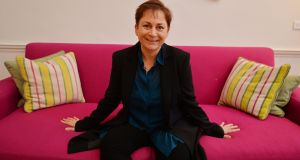 "Anne Enright: ""All we need to do is cover the art with a gentle soft rain."" Photograph: Alan Betson"