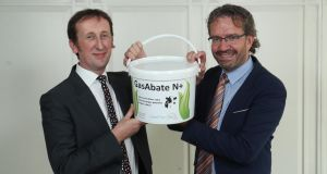 Dr Ruairi Friel, CEO and Prof Vincent O'Flaherty, Chief Scientific Officer of Glasport Bio.