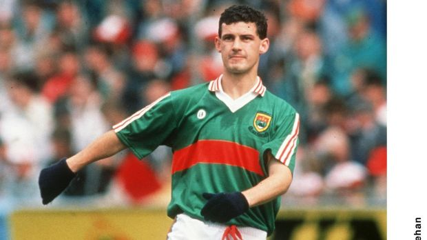 Kevin McStay during his playing days with Mayo in 1989. Photograph: James Meehan/Inpho