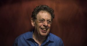 Philip Glass: 'Moving furniture was a perfect job.' Photograph: Gabriella Demczuk/The New York Times