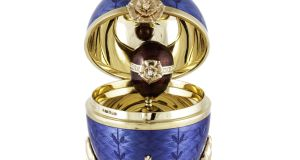 Faberge Egg:  fetched €6,500 at  O'Reillys Fine Jewellery Sale