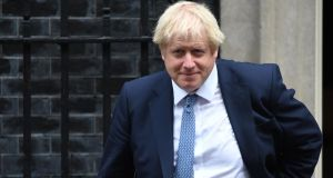 "British prime minister Boris Johnson. ""This is a prime minister not fit for office, presiding over a political order that has long since ceased to function."" Photograph: Chris J Ratcliffe/Getty Images"