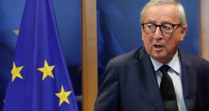 Jean-Claude Juncker: 'If we don't succeed in the end, the responsibility would lie exclusively on the British side.' Photograph: Olivier Hoslet
