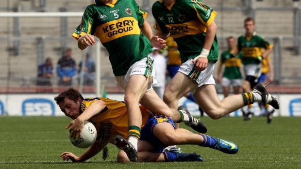 The 2009 minor quarter-final between Kerry and Roscommon. Photograph: Cathal Noonan/Inpho
