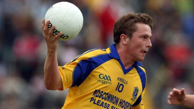 Jack in action for the Roscommon minors in 2009. Photograph: Inpho