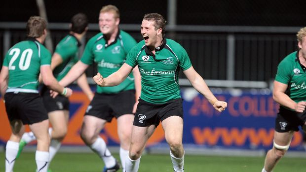 Jack Carty playing for Connacht during the Under-20 Interprovincials in 2011. Photograph: Cathal Noonan/Inpho