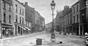 A view of Market Street, Sligo, circa 1890s. Photograph: National Library of Ireland/ Flickr Commons