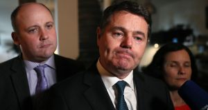 Minister for Finance Paschal Donohoe said the budget would be safe and careful. Photograph: Brian Lawless/PA Wire