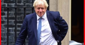 British prime minister Boris Johnson: nobody has provided a concrete assessment of how Irish trade with continental Europe, the trade that uses the UK land bridge, will be affected. Photograph: David Mirzoeff
