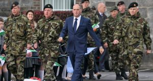 "Paul Kehoe: ""Prudent planning in relation to all situations that may require a Defence Forces response, including by the Naval Service and the Air Corps, is undertaken by the Defences Forces."" Photograph: Colin Keegan/Collins Dublin"