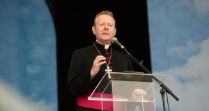 Archbishop Eamon Martin also said the last six months has seen a return to death and bombing in the North, with increased sectarianism and still no sign of a functioning Assembly to protect and develop the peace process. File photograph: Dara Mac Dónaill/The Irish Times
