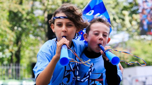 Noah Mongey and Rian Cooke from Artane in Merrion Square, Dublin. Photograph: Gareth Chaney/Collins