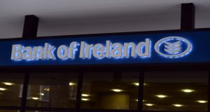 Bank of Ireland shares tumbled down to penny status as the State was forced to bail it and others out. Photograph: Cyril Byrne / THE IRISH TIMES