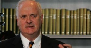 'The more regulatory divergence there is between the two parts of Ireland, the more border controls or other barriers there will have to be,' said former taoiseach John Bruton. File image: David Sleator/The Irish Times