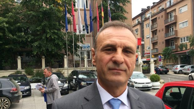 Slobodan Petrovic, head of the Independent Liberal Party in Kosovo, says its members and supporters are being threatened by a Belgrade-backed rival before Kosovo's October 6th snap election. Photograph: Dan McLaughlin