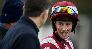 Brian Cooper: could return to action at Clonmel on Thursday. Photograph: Oisín Keniry/Inpho