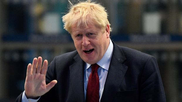 Irish backstop - Boris Johnson wants to exploit 'the freedoms that are so vital for Brexit'. Photograph: Neil Hall/EPA