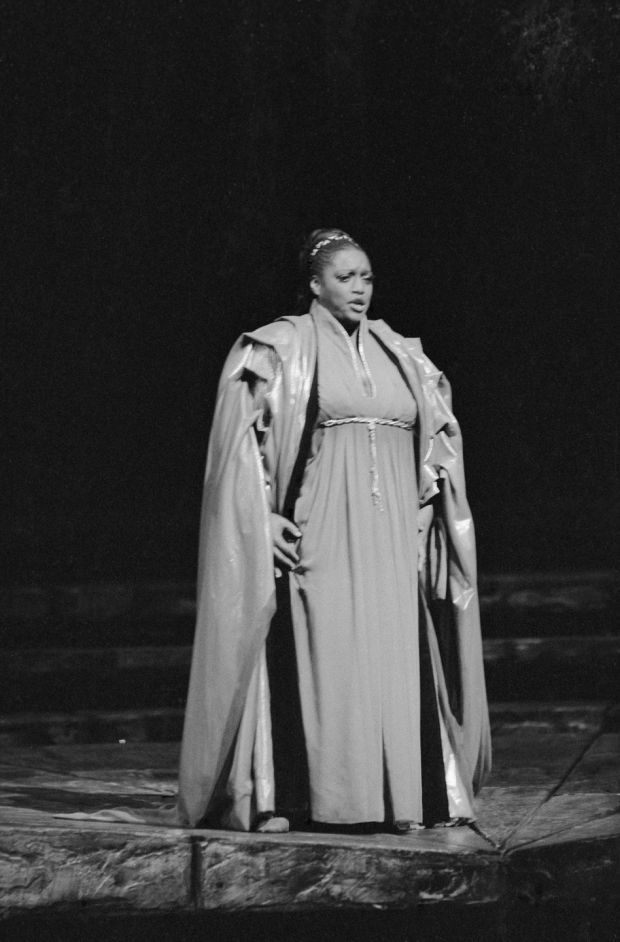 Jessye Norman: the singer made her debut at New York's Met in 1983, performing in Les Troyens. Photograph: Getty