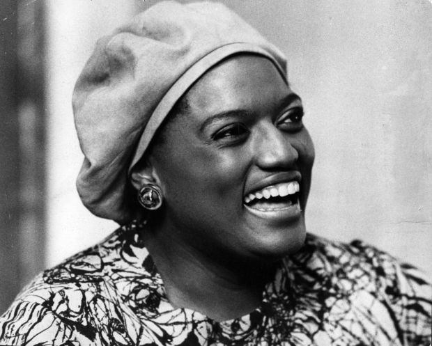 Jessye Norman in 1975: her voice was likened to a 'grand mansion of sound'. Photograph: Evening Standard/Getty