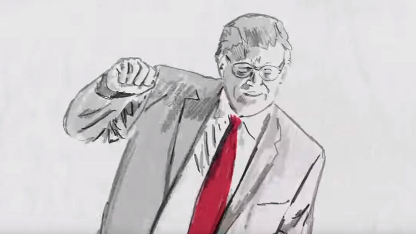 American Sexxy Video trump dances like a sexy pile of cheese in his take on me
