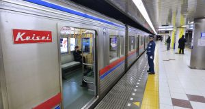 """It struck me that when the Tokyo metro service finished for the night, the train wouldn't need cleaners."" Photograph: iStock"