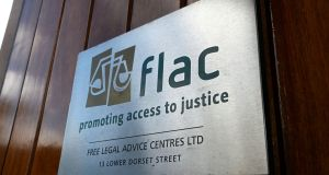 Flac's annual report shows most queries concerned family law, employment law and wills/probate – but a third of cases now deal with housing issues alone. File photograph: Cyril Byrne