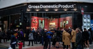Gross Domestic Product: Banksy's new shop has opened in Croydon. Photograph: Chris J Ratcliffe/Getty