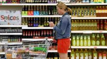 A shopper pushes a trolley in a supermarket. There is a common assumption that we are entitled to get a product at whatever price it is marked at in a shop. File photograph: Neil Hall/Reuters