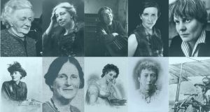 Worthy of honour:  all of these women, from Thekla Beere (top left) to Lillian Bland (bottom right), are ideal candidates for Trinity College Dublin's Long Room bust