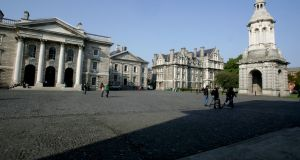 Trinity College Dublin: considering options. Photograph: Alan Betson