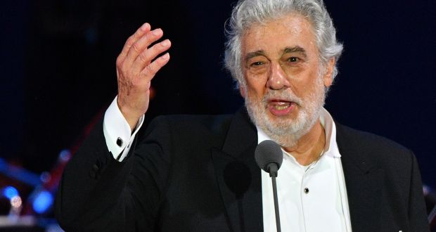 Spanish tenor Placido Domingo:  facing  sexual harassment accusations. Photograph: Attila Kisbenedek/AFP via Getty Images