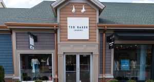 Ted Baker has three shops in the Republic. Photograph: iStock