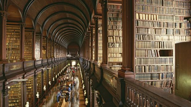 The Long Room, Trinity College Dublin library
