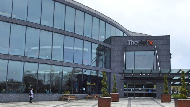 The Helix Theatre on the grounds of the Dublin City University (DCU) campus.