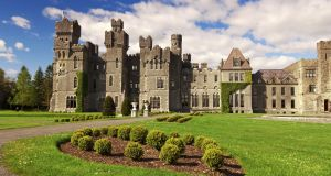 Ashford Castle in Cong, Co Mayo.