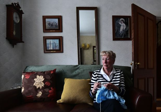 Maureen Rafferty, whose son Philip was abducted by the UFF in 1973. Photograph: Colm Lenaghan/Pacemaker