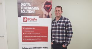 Technical Director at iDonate in Co Galway, Alan Coyne, who designed the eSign process which has been approved by  Revenue