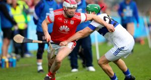 Cuala's Con O'Callaghan and Neal Billings of St Vincent's. Photograph: Ryan Byrne/Inpho