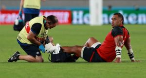 England sweating over the fitness of Billy Vunipola