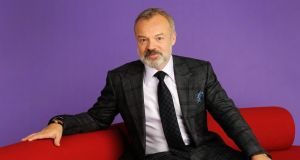 Graham Norton: 'When I found out how much the Telegraph paid Boris Johnson... To do a weekly column he's paid, like, £250,000 a year. So I just thought, No'. Photograph: Christopher Baines/BBC