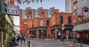 33-34 Essex Street East sits in a pivotal position at the heart of Dublin's Temple Bar district. Photograph: Gareth Byrne Photography
