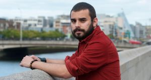 Adonis Moreira  and his girlfriend are paying €1,700 a month for an apartment. Photograph: Dave Meehan/The Irish Times