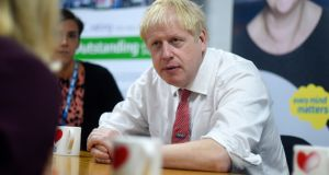 "Joe O'Flynn: Boris Johnson government is  ""destructive and pompous"". Photograph: Peter Summers/PA"