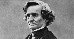 Hector Berlioz in 1856. Our Lady's Choral Society at the NCH with  conductor Proinnsías Ó Duinn and the RTÉ Concert Orchestra, was careful to include an extract from his best-known work, the Symphonie fantastique, inspired by his passion for the Irish actress Harriet Smithson. Photograph: Nadar